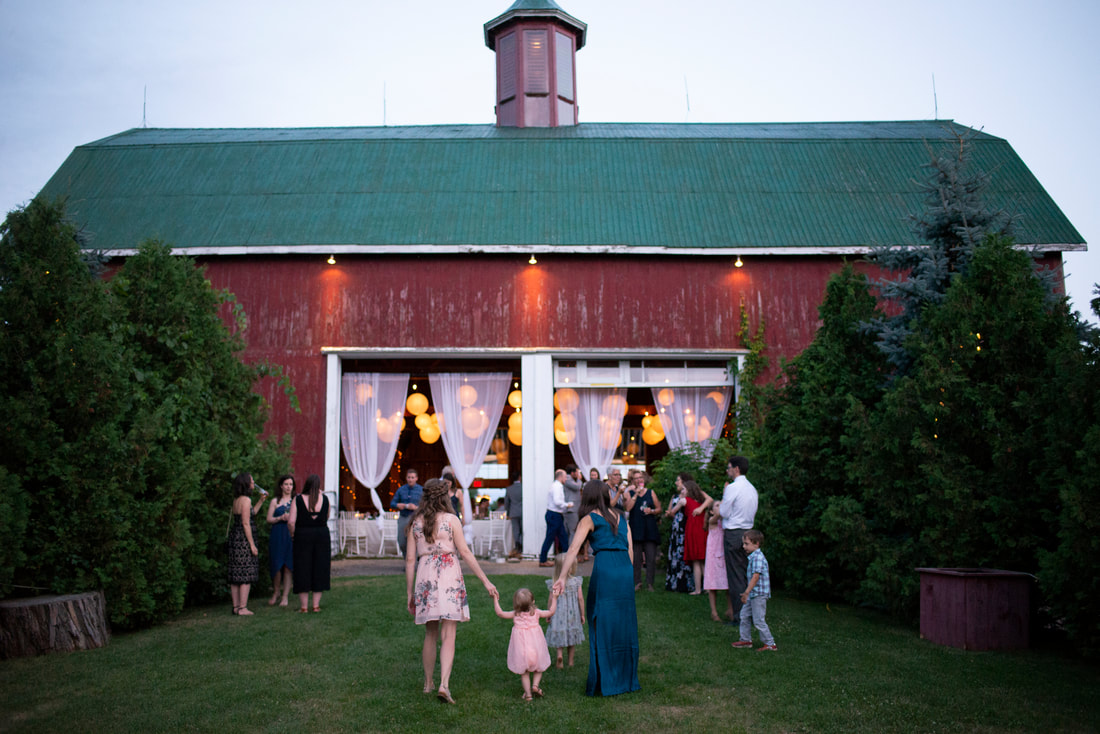Barn wedding at Fields on West Lake in Prince Edward County